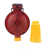 China Solar Barricade Warning Light Manufacturer