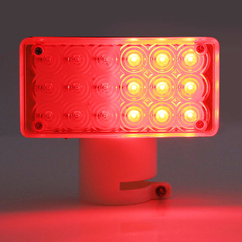 Blinker Warning Light Square Shape